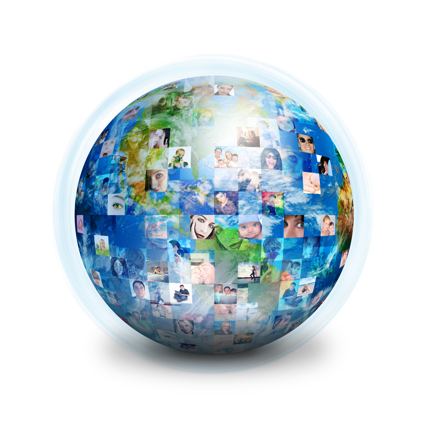 Social Media has global reach potential